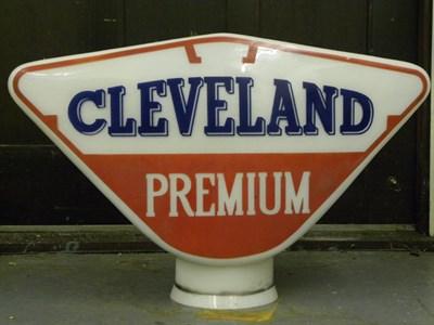 Lot 90-'Cleveland Premium' Petrol Pump Globe