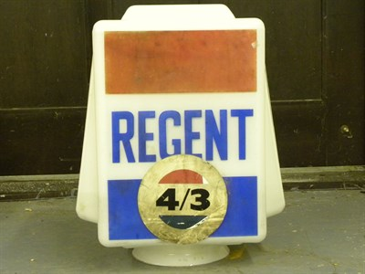 Lot 92 - Regent Petrol Pump Globe
