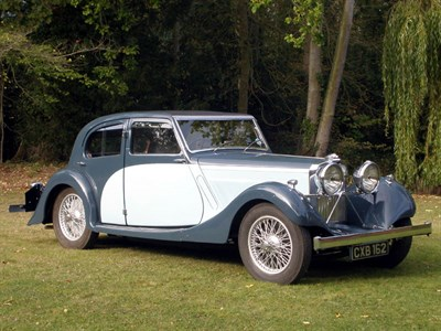 Lot 39-1936 Talbot BI 105 Sports Saloon