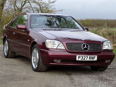 Lot 76 - 1996 Mercedes-Benz CL 600