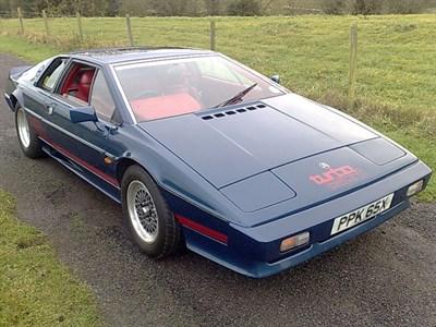 Lot 60 - 1981 Lotus Turbo Esprit