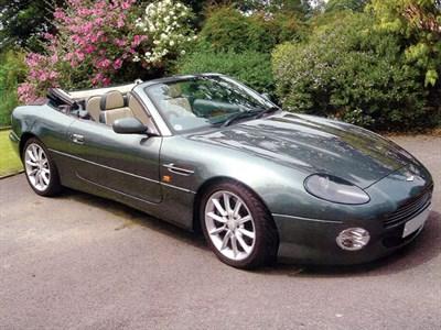 Lot 71-1999 Aston Martin DB7 Vantage Volante