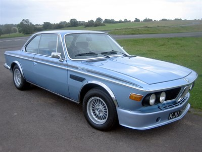 Lot 24-1972 BMW 3.0 CSL