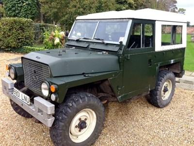 Lot 53-1984 Land Rover 88 Series III Lightweight