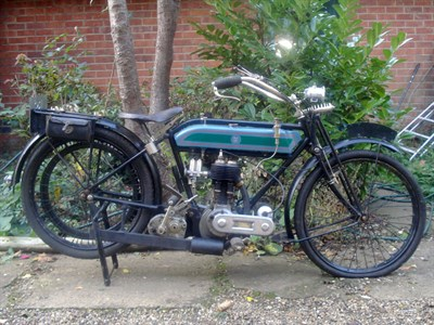 Lot 1-1919 Triumph Model H