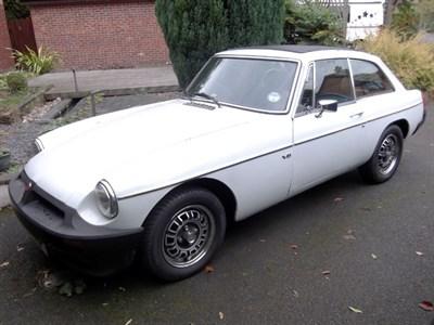 Lot 7 - 1975 MG B GT V8