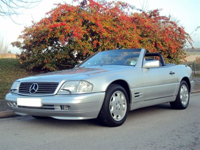 Lot 47-1995 Mercedes-Benz SL 320
