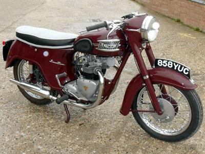 Lot 8-1959 Triumph 5TA Speed Twin