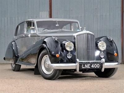 Lot 52 - 1950 Bentley MK VI Park Ward Six-Light Sports Saloon