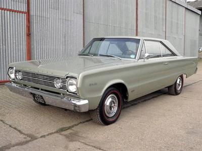 Lot 63-1966 Plymouth Hemi Satellite
