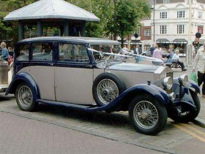 Lot 34-1931 Rolls-Royce 20/25 Limousine