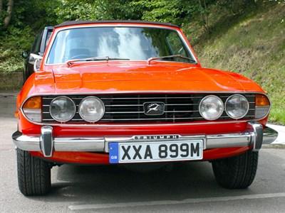 Lot 59 - 1973 Triumph Stag