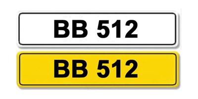 Lot 4 - Registration Number BB 512