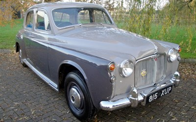Lot 5 - 1961 Rover 100