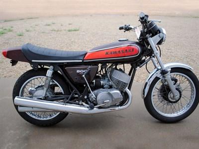 Lot 16-1974 Kawasaki H1