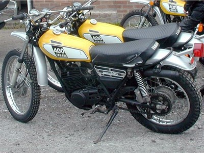 Lot 15-1975 Yamaha DT400