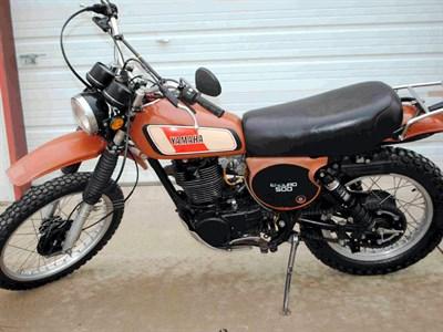 Lot 6-1977 Yamaha XT500