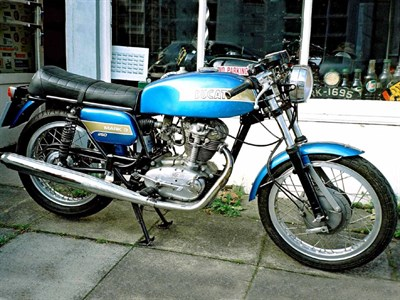 Lot 28-1975 Ducati Mark 3