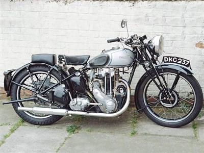 Lot 32-1937 Triumph T80 Tiger