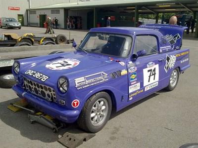 Lot 16-1964 Triumph Herald 1200 Race Car