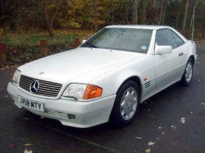 Lot 58-1992 Mercedes-Benz 300 SL-24