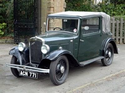 Lot 31 - 1933 Austin 10/4 Cabriolet
