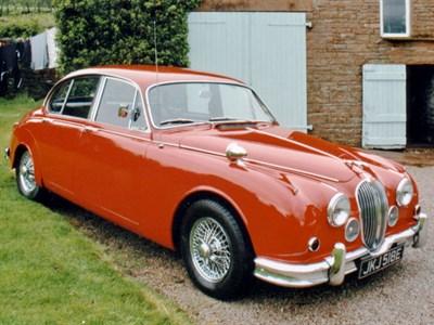 Lot 43-1967 Jaguar 340