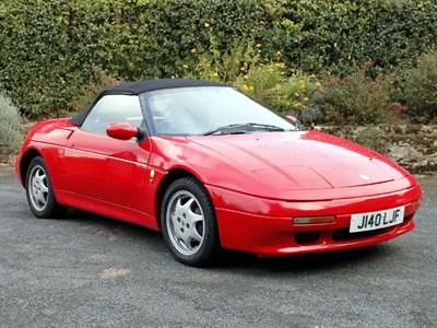 Lot 48-1991 Lotus Elan SE Turbo