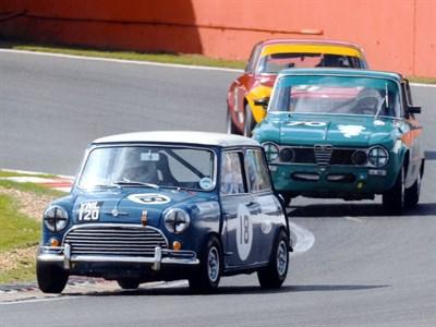 Lot 28-1963 Morris Mini Cooper FIA Appendix K Race Car