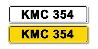 Lot 5 - Registration Number KMC 354