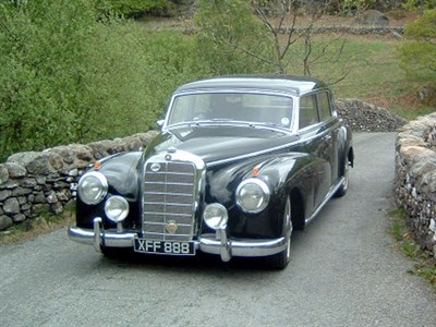Lot 7-1954 Mercedes-Benz 300 'Adenauer' Saloon
