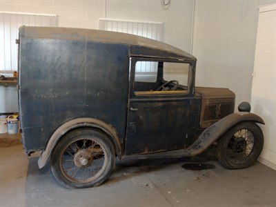 Lot 30-1933 Austin Seven Van