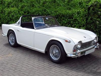 Lot 73-1966 Triumph TR4A