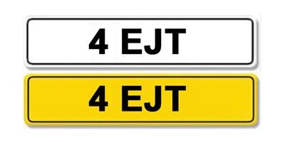 Lot 6 - Registration Number 4 EJT
