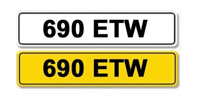 Lot 7 - Registration Number 690 ETW