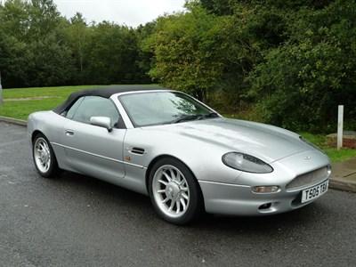 Lot 77-1999 Aston Martin DB7 Volante 'Alfred Dunhill'