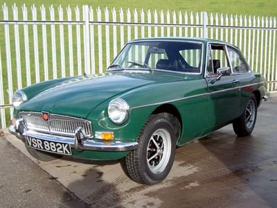 Lot 78-1972 MG B GT