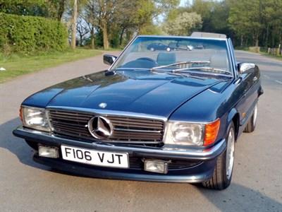 Lot 79-1989 Mercedes-Benz 500 SL