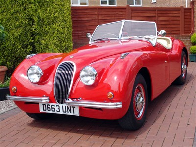 Lot 13-2009 Nostalgia XK120 Evocation