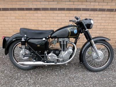 Lot 27-1956 AJS 16M