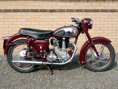 Lot 26-1956 BSA B31