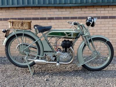Lot 36-1926 New Hudson 500cc