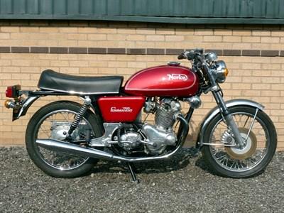 Lot 38-1972 Norton Commando 750