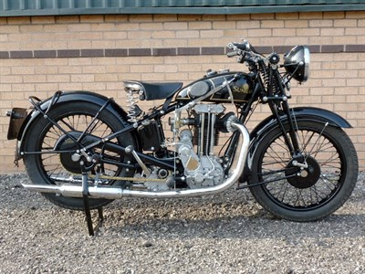 Lot 31-1932 Sunbeam Model 9A