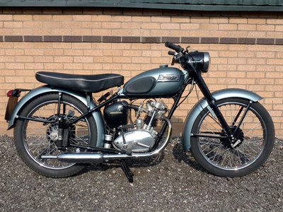 Lot 29-1955 Triumph T20 Tiger Cub