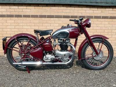 Lot 54-1945 Triumph 5T Speed Twin