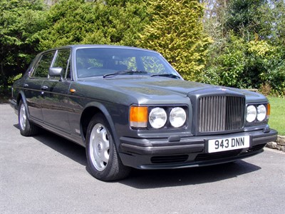 Lot 14-1992 Bentley Turbo R