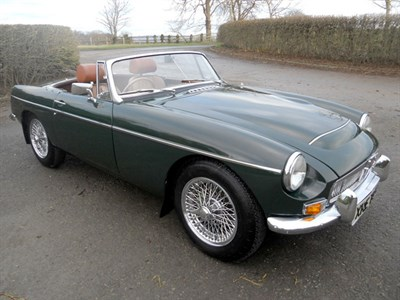 Lot 38-1969 MG C Roadster
