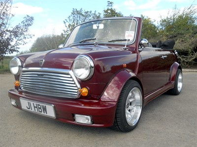 Lot 39-1991 Rover Mini 'Lamm' Cabriolet