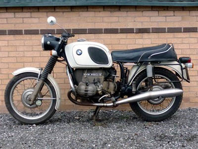 Lot 5-1973 BMW R60/5